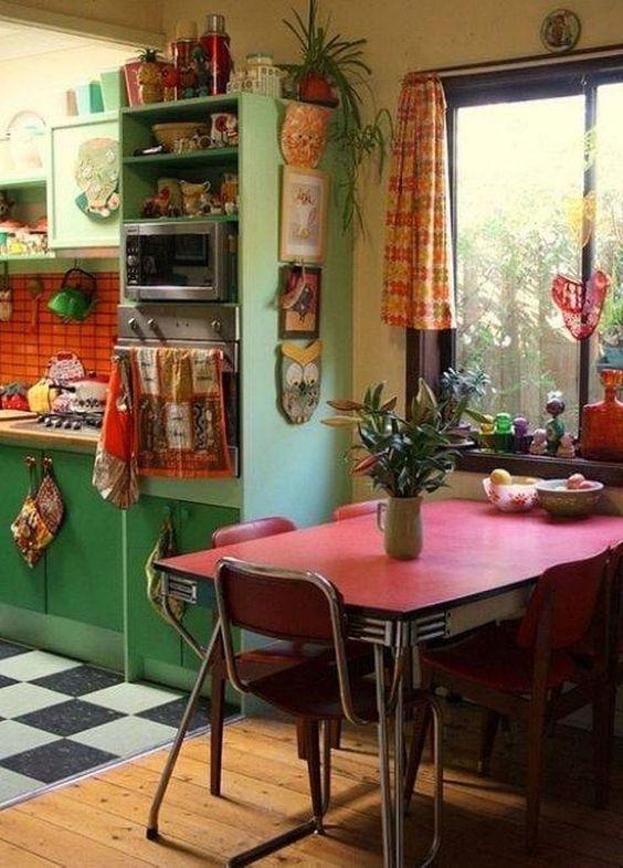 green kitchen ideas 25