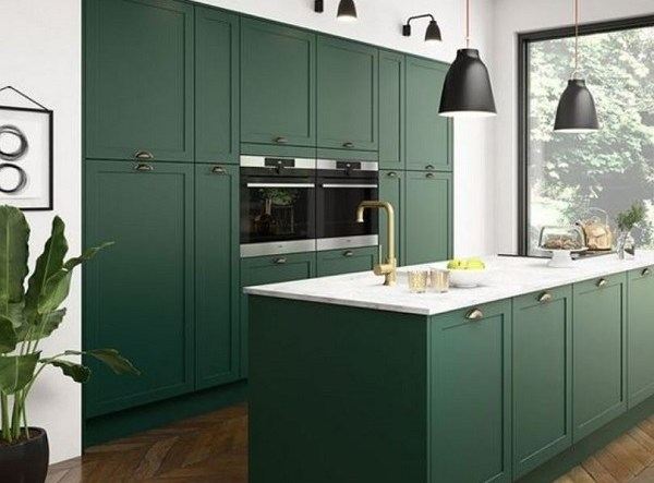 green kitchen ideas feature