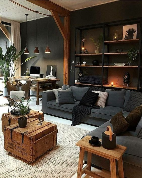 Living Room Colors Ideas: Earthy Elegant Decor