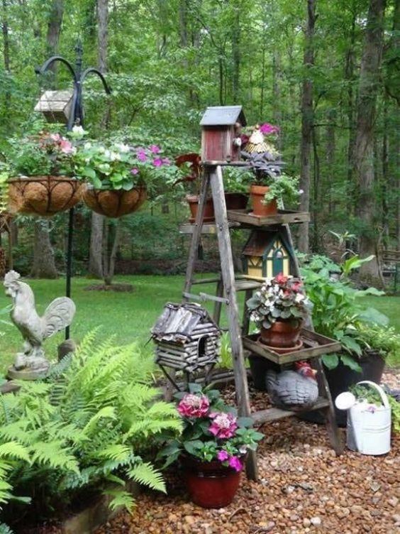rustic backyard ideas 14