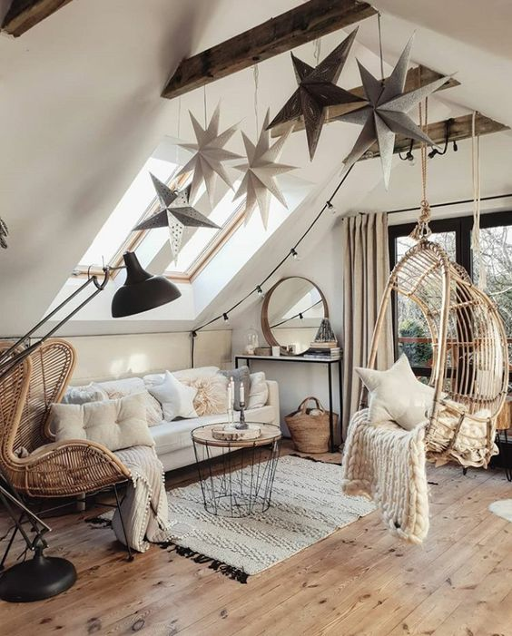 rustic living room 1
