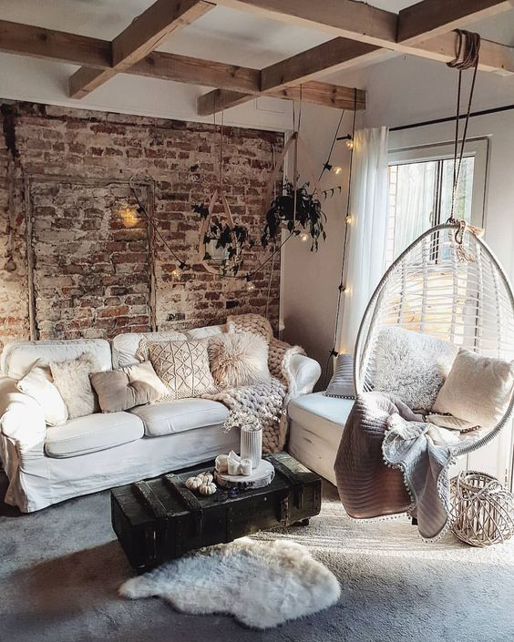 rustic living room 2