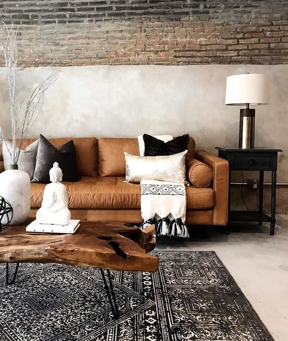 rustic living room 7