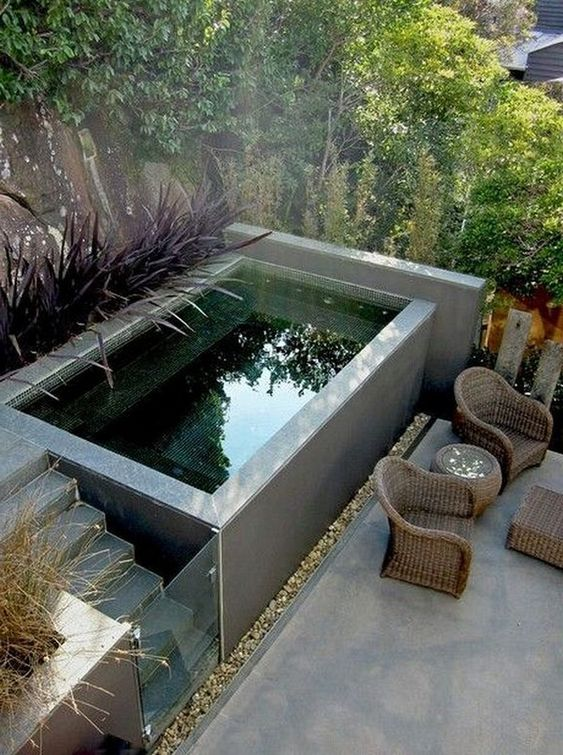 Small Swimming Pool: Above Ground Pool