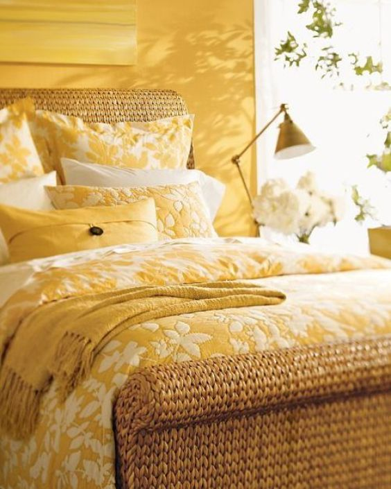 yellow bedroom ideas 17