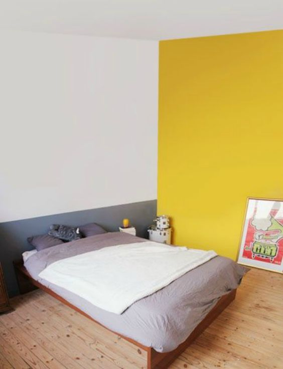 yellow bedroom ideas 22
