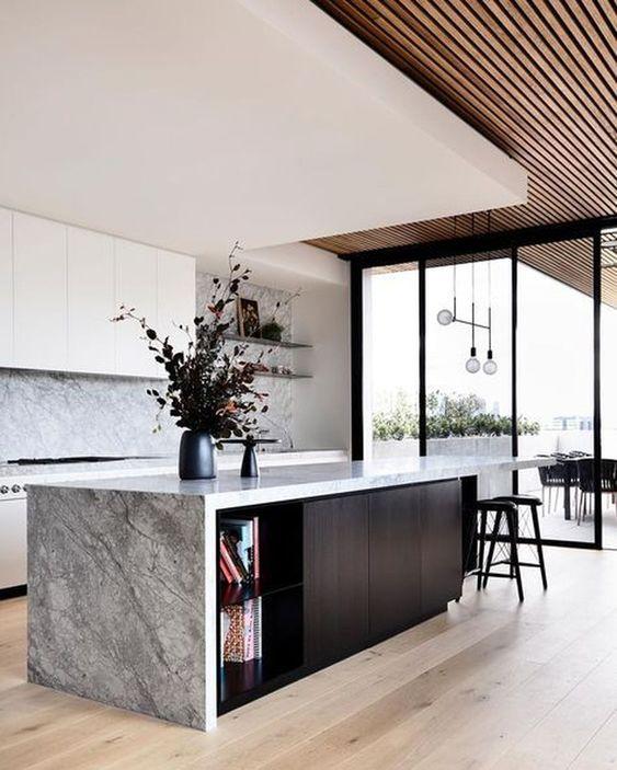 Kitchen with Islands Ideas: Elegant Rustic Design