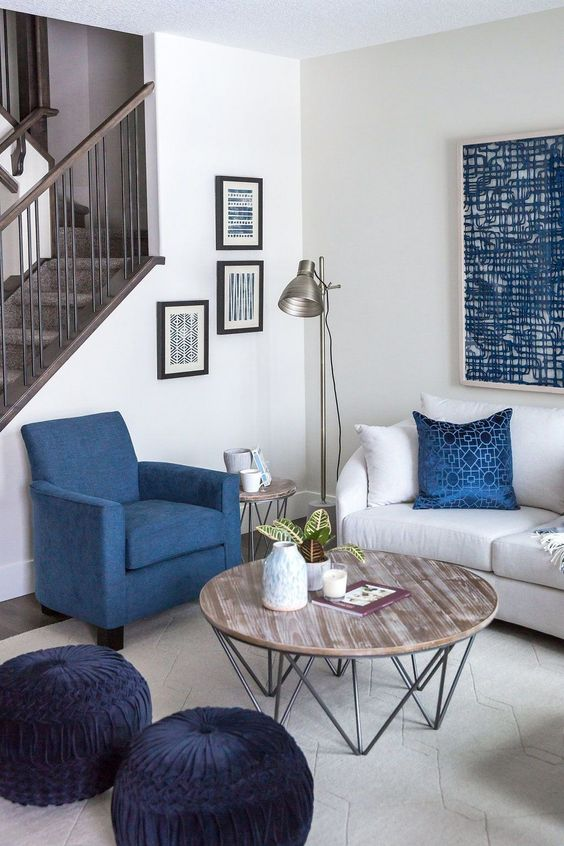 blue living room ideas 18