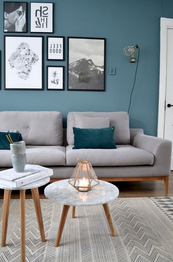 Blue Living Room Ideas: Chic Simple Decor