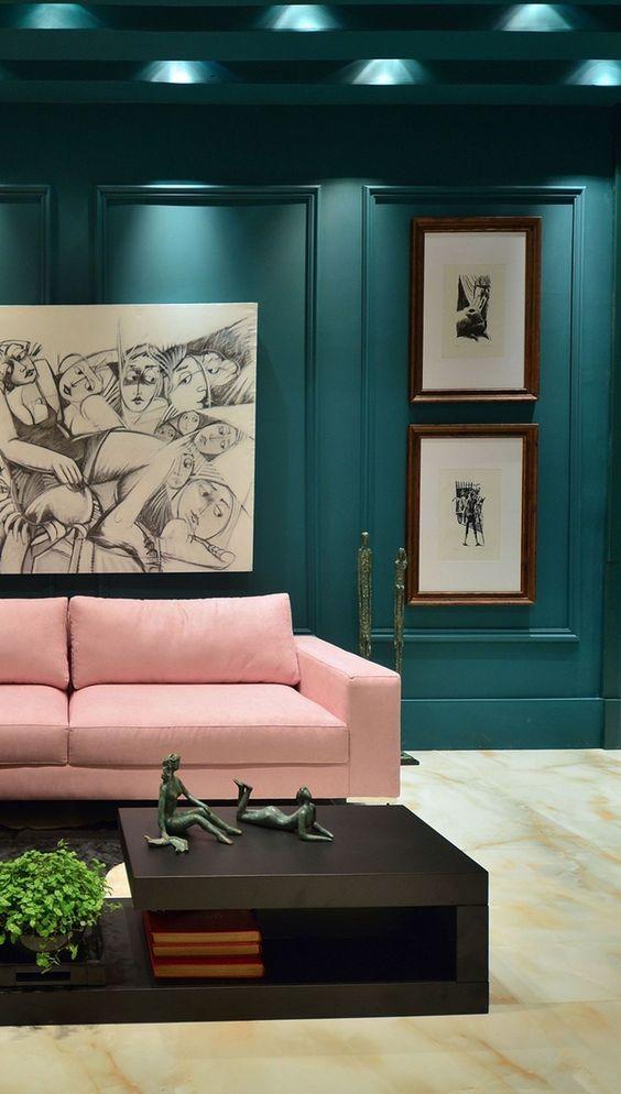 Blue Living Room Ideas: Chic Feminine Decor