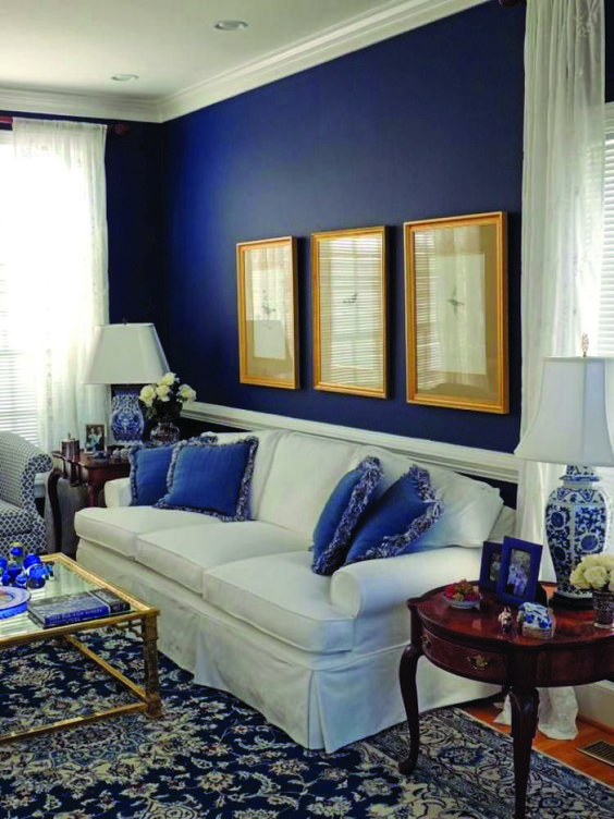 blue living room ideas 8
