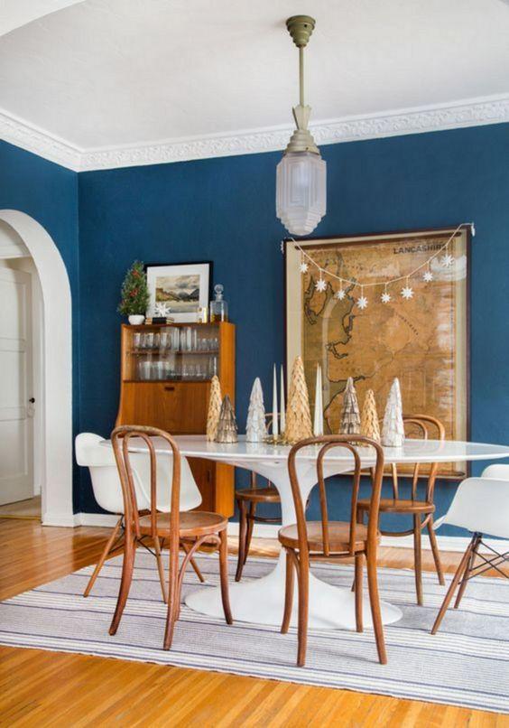 Eclectic Dining Room: Elegant Rustic Decor