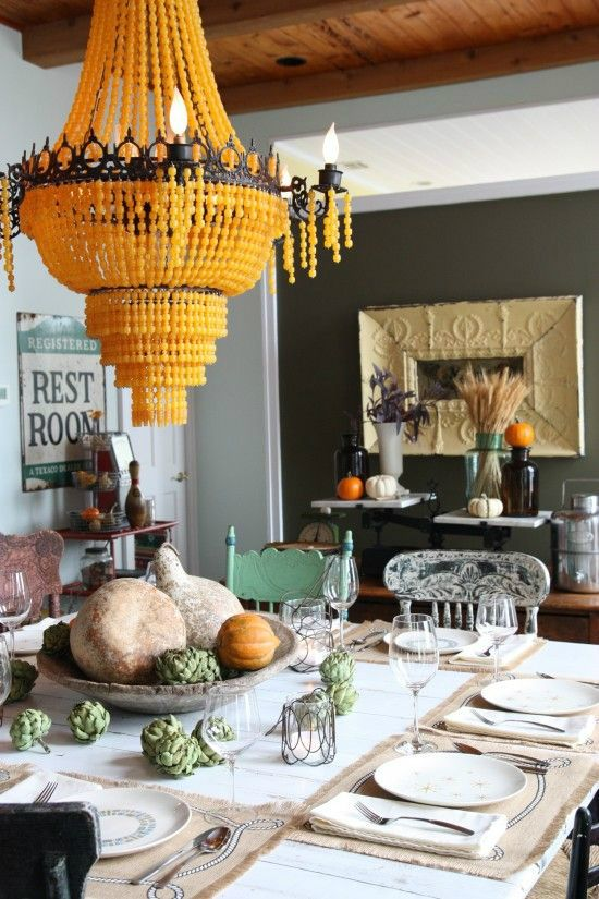 eclectic dining room 12