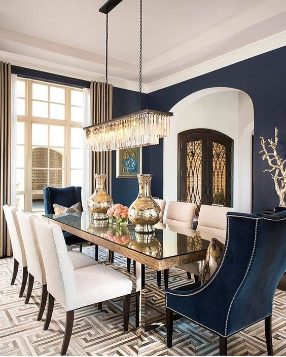 eclectic dining room 21