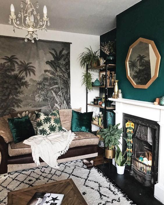 green living room 13