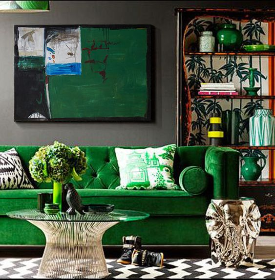 green living room 14