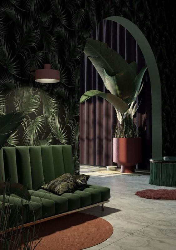 green living room 16