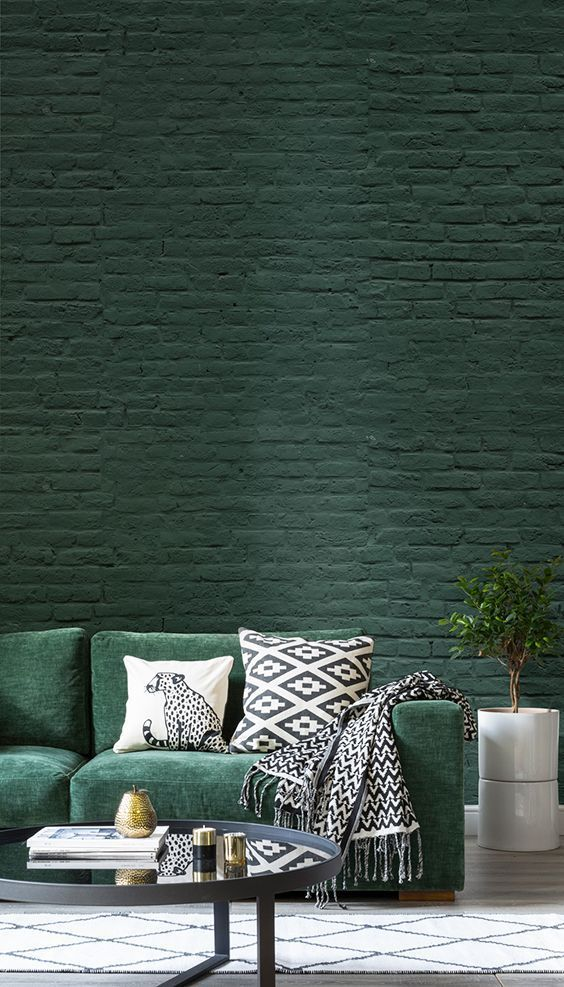 green living room 23