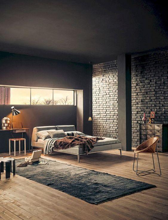 Industrial Bedroom Ideas: Elegant Rustic Decor
