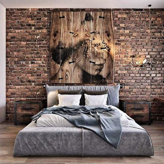industrial bedroom ideas 23