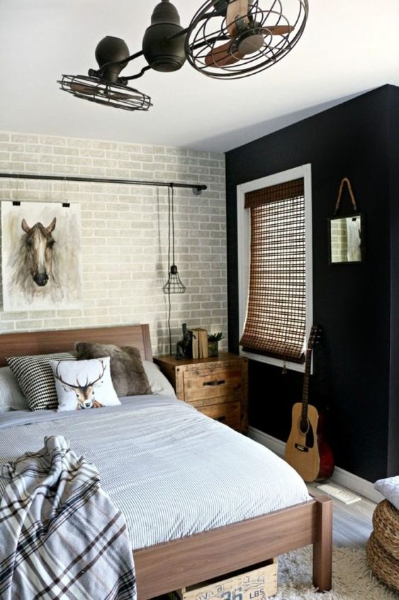 Industrial Bedroom Ideas: Chic Teen Decor