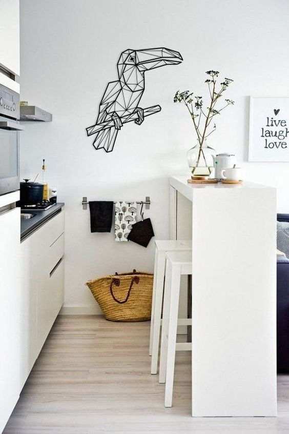 Tiny Kitchen Ideas: Chic Cozy Decor