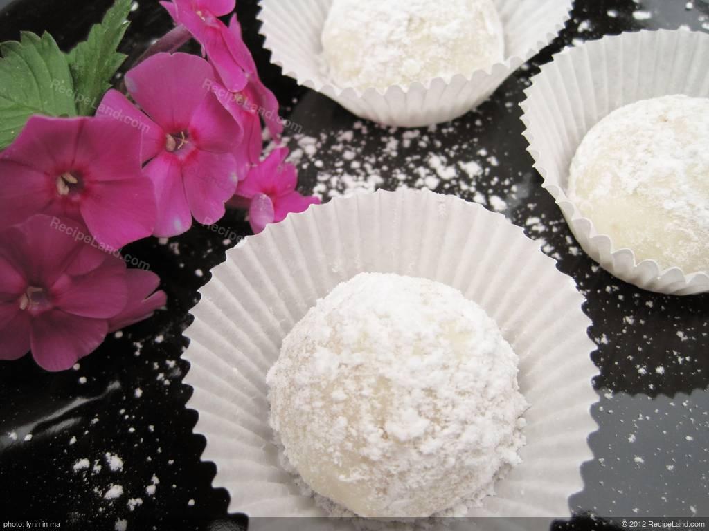 Russian Tea Cakes Mexican Wedding Cookies Recipe