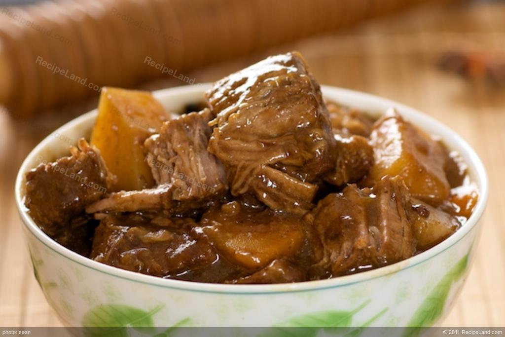Chinese Beef Stew recipe   RecipeLand.com