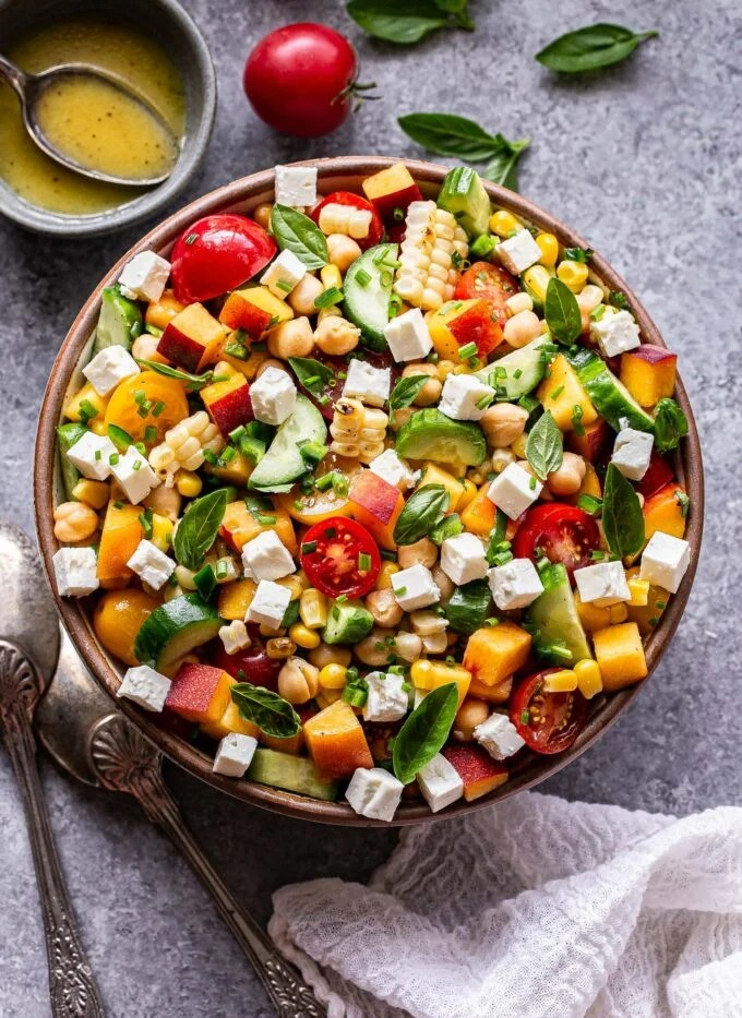 WW Chickpea And Feta Salad