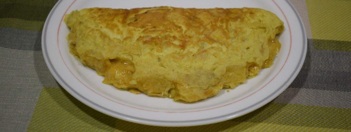 chips omelette