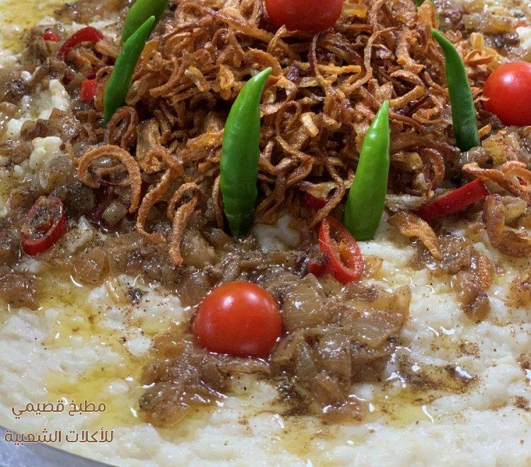 وصفة طريقة طبخ وعمل اكلة جريش ابيض بالصور jareesh recipe