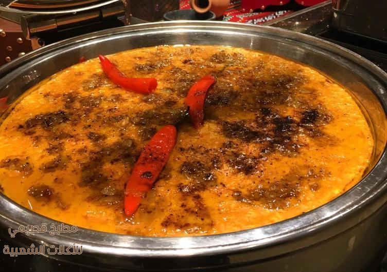 صور اكلة جريش حايل الاحمر ورد تميم jareesh recipe
