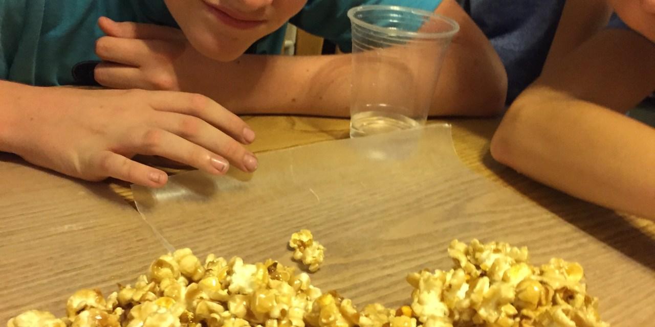Grandma Free's Caramel Popcorn