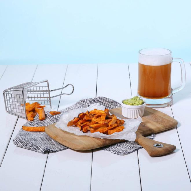 Món ăn vặt mới toanh từ khoai lang đảm bảo khiến bạn ngất ngây ngay từ lần đầu - Ảnh 6.