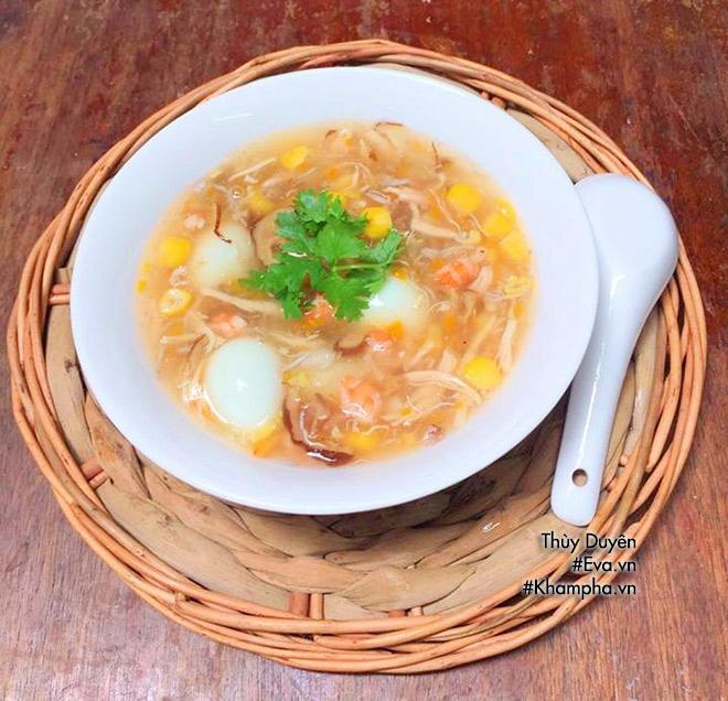Cuối tuần mẹ chiêu đãi món súp hải sản trứng cút ngon mê ly - 10