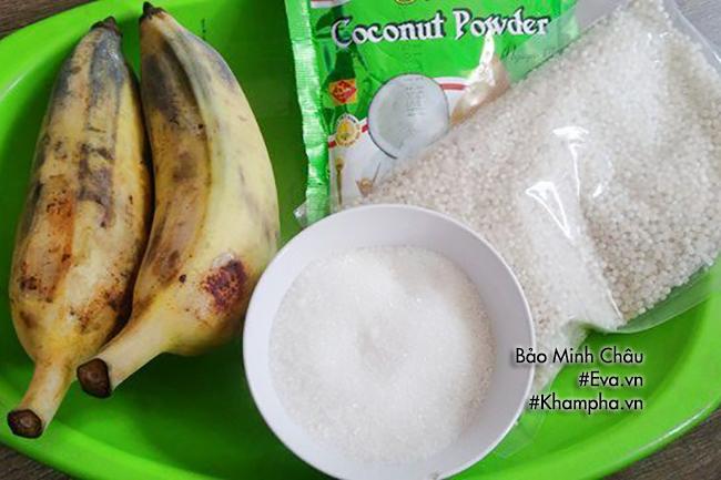 Mát trời trổ tài làm chè chuối nước cốt dừa - 1