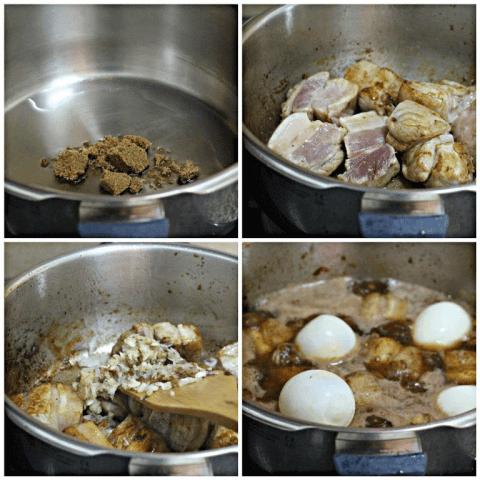 thịt kho trứng vịt 2