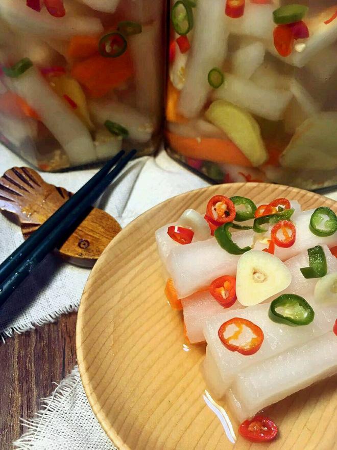 Mách bạn cách làm củ cải ngâm chua ngọt cực ngon - Ảnh 5.