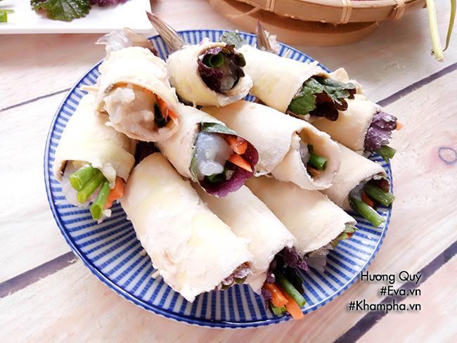 Tôm cuộn khoai lang chiên ngòn thơm nóng bỏng lưỡi - 6
