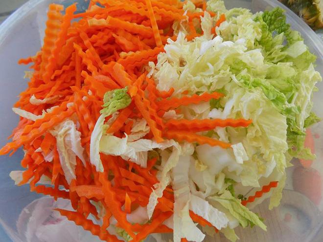 Cách làm kim chi cải thảo cà rốt thuần Việt giòn ngon - Ảnh 3.
