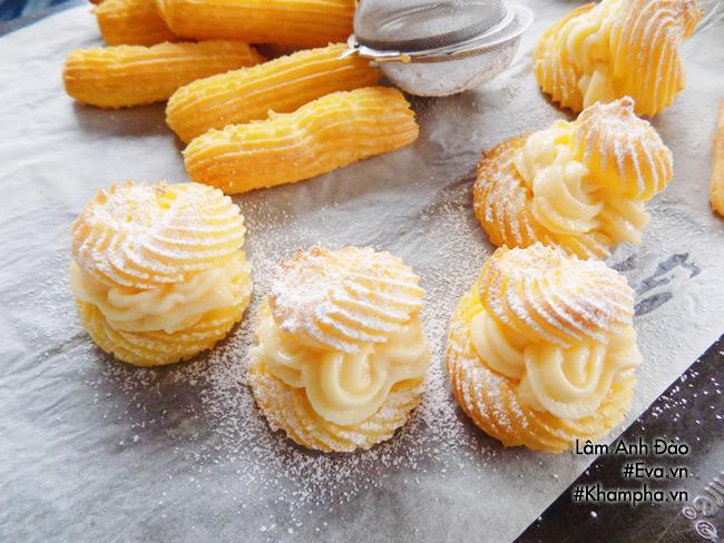 Cách làm bánh su kem đơn giản lại ngon mát đảm bảo ai ăn cũng thích - 12