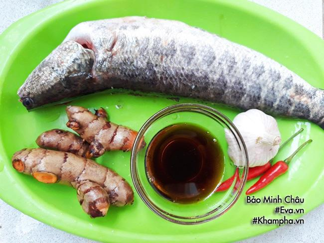 Đánh bay nồi cơm với cá lóc kho nghệ đậm đà, thơm nức mũi - 1