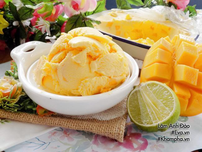 Mùa hè nóng bức, làm kem xoài vừa ngon lại dễ đến không ngờ - 10