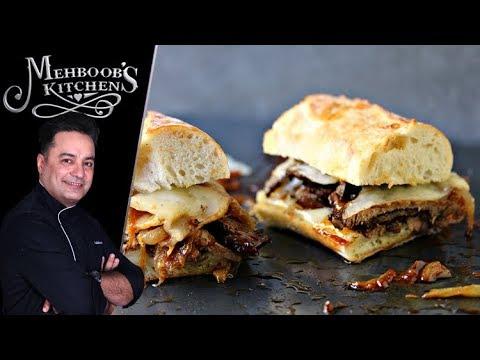 Cheese Steak Sandwich Recipe by Chef Mehboob Khan 2 October 2018