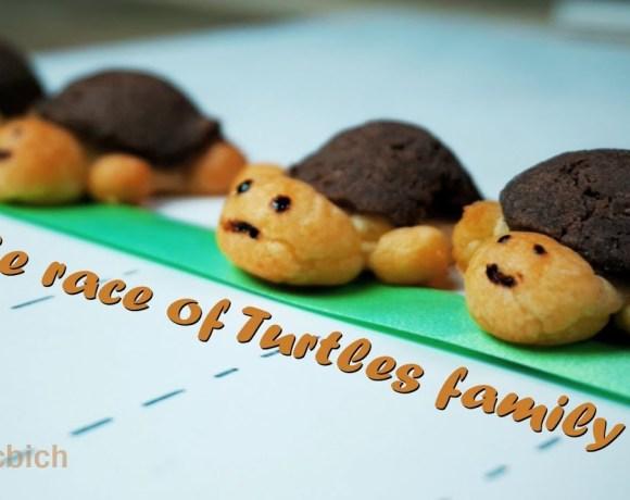 The race of CRAQUELIN Turtles family - Craquelin RECIPE