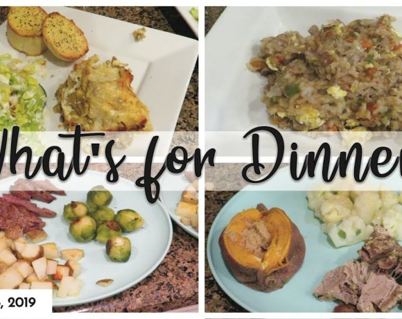 WHAT'S FOR DINNER? | SUPER EASY DINNERS | COOK WITH ME