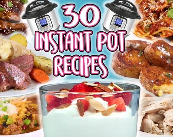 30 Instant Pot Recipes | Super Comp | Well Done
