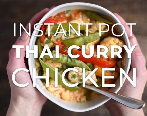 Instant Pot Thai Coconut Curry Chicken