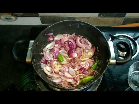 Chilli Chicken Recipe in Bengali  Bengali Ranna Recipe mp4