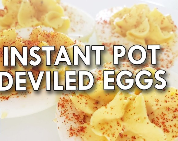 How to make instant pot deviled eggs